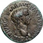 CLAUDIUS, A.D. 41-54. AE Sestertius, Rome Mint, A.D. 42-43. NEARLY VERY FINE.