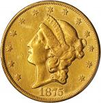 1875-CC Liberty Head Double Eagle. EF Details--Repaired (PCGS).