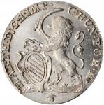 AUSTRIAN NETHERLANDS. Escalin, 1763. Maria Theresa & Franz I. PCGS MS-64+ Gold Shield.