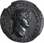 NERO, A.D. 54-68. AE Dupondius (13.95 gms), Rome Mint, ca. A.D. 66.