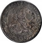 GERMANY. Saxe-Altenburg. Taler, 1624-WA. Saalfeld Mint. August II. NGC AU-53.