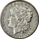 1893-CC Morgan Silver Dollar. AU-55 (PCGS).