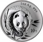 2003年熊猫纪念银币1盎司 PCGS MS 70