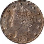 1890 Liberty Head Nickel. Proof-64 (PCGS). OGH.
