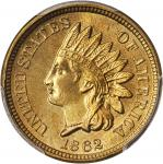 1862 Indian Cent. MS-65+ (PCGS). CAC.