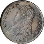 1817 Capped Bust Half Dollar. O-110a. Rarity-2. MS-64 (NGC). OH.