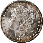 1892-CC Morgan Silver Dollar. MS-65+ (PCGS).