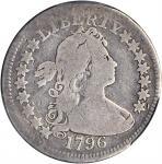 1796年半身像1/4美元 PCGS AG 3