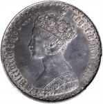 1852年英国1弗罗林银币。伦敦铸币厂。 GREAT BRITAIN. Florin, 1852. London Mint. Victoria. PCGS AU-58.