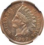 1909-S Indian Cent. AU Details--Improperly Cleaned (NGC).