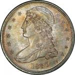 1837 Capped Bust Half Dollar. Graham Reiver-4. Rarity-3. 50 CENTS. Mint State-66 (PCGS).