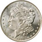 1890-O Morgan Silver Dollar. MS-65 (PCGS). CAC. OGH.