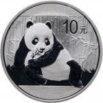 2015年熊猫纪念银币1盎司 PCGS MS 70