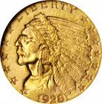 1928 Indian Quarter Eagle. MS-65 (NGC).