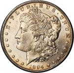 1894-S Redfield Morgan Silver Dollar. MS-63 (NGC).