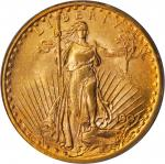 1907 Saint-Gaudens Double Eagle. Arabic Numerals. MS-62 (PCGS). CAC.