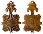 民国时期云南省政府主席龙云颁发之铜质奖章,保存良好