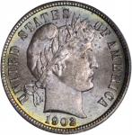 1902 Barber Dime. MS-67 (PCGS). Secure Holder.