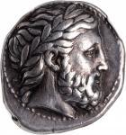 MACEDON. Kingdom of Macedon. Philip II, 359-336 B.C. AR Tetradrachm (14.47 gms), Pella Mint, ca. 342