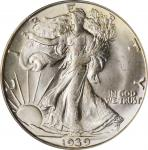 1939-D Walking Liberty Half Dollar. MS-65 (PCGS). CAC. OGH.