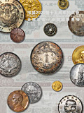 上海泓盛2020年春拍-金银锭 机制币