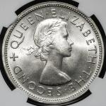 SOUTH RHODESIA 南ローデシア Crown 1953  NGC-MS64 UNC+