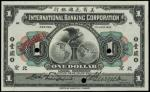 CHINA--FOREIGN BANKS. International Banking Corporation. $1, 1.7.1919. P-S417s.