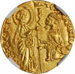 ITALY. Venice. Ducat, ND. Tomaso Mocenigo (1414-23). NGC MS-67.