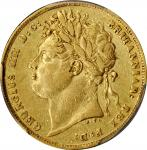 GREAT BRITAIN. Sovereign, 1821. London Mint. George IV. PCGS EF-45 Gold Shield.