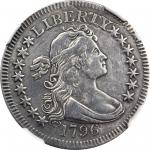 1796 Draped Bust Quarter. B-2. Rarity-3. EF Details--Repaired (NGC).