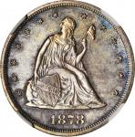 1878 Twenty-Cent Piece. Proof Details--Cleaned (NGC).