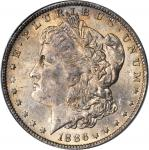 1886-O Morgan Silver Dollar. MS-63 (PCGS).