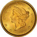 1853 Gold Dollar. MS-68 (PCGS). CAC.