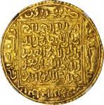 ALGERIA. Ziyanids of Tilimsan. Dinar, AH 718-37 (1318-37). Abu Tashufin Abd al-Rahman I. NGC AU-55.