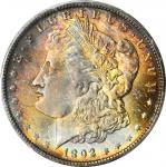 1892-O Morgan Silver Dollar. MS-64+ (PCGS). CAC.