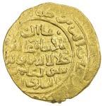 QUTLUGHKHANID: Suyurghatmish, 1282-1294, AV dinar (9.84g), MM/NM, DM, A-D1936, with his titles Jalal