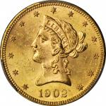 1902 Liberty Head Eagle. MS-63 (PCGS). CAC.