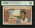 CAMEROON. Banque Centrale. 5000 Francs, ND (1961). P-8. PMG Very Fine 25.