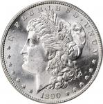 1890-S Morgan Silver Dollar. MS-65 (PCGS). CAC. OGH.