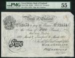 Bank of England, Basil Gage Catterns (1929-1934), 」5, Liverpool 6 March 1931, serial number 475/U 12