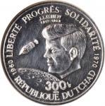 CHAD. 300 Francs, 1970. NGC PROOF-63.