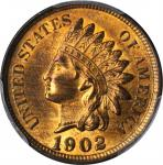 1902 Indian Cent. MS-64 RB (PCGS).