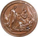 1864 Philadelphia Sanitary Fair Medal. Bronze. 57.8 mm. Julian CM-44. Mint State.