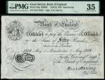 Bank of England, Ernest Musgrave Harvey (1918-1925), 50, Manchester, 3 May 1919, serial number 25/X