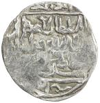 CHAGHATAYID KHANS: Qazan Timur, 1343-1346, AR dinar (7.87g), Badakhshan, AH744, A-2004, tamgha, mint