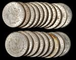 Lot of (500) 1880-O Morgan Silver Dollars. Mostly Extremely Fine to About Uncirculated.