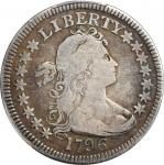 1796 Draped Bust Quarter. B-1. Rarity-4+. VG Details--Repaired (PCGS).