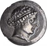 AEOLIS. Cyme. AR Tetradrachm (16.57 gms), Metrophnes Magistrate, ca. 165-140 B.C.