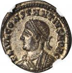 CONSTANTIUS II as Caesar, A.D. 324-337. AE Follis (3.17 gms), Heraclea Mint, ca. A.D. 327-9.