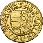 World Coins, Hungary.  Albrecht of Habsburg (1437-1439). Ducat, c. 1439. Huszar 589. Fr. 12 3.56 g.